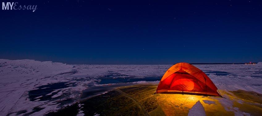 Tent Night Spending